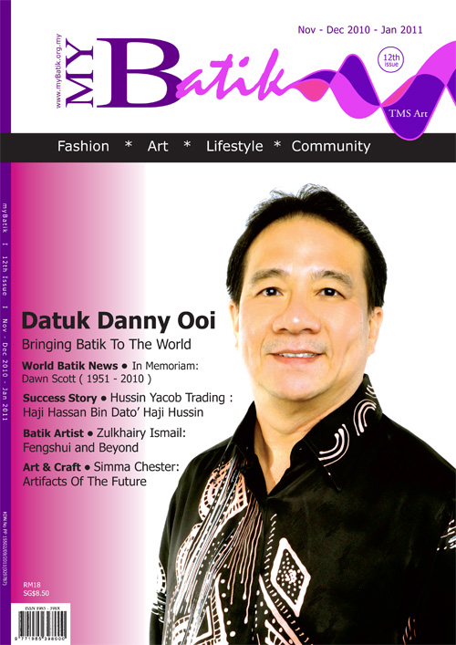 issue 12 Datuk Danny Ooi – myBatik Kuala Lumpur 7c5967e725