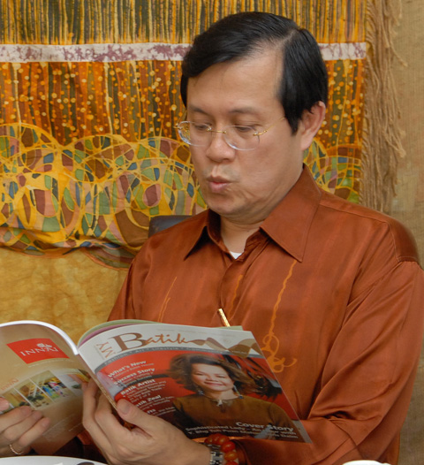Minister of Transport Malaysia, Datuk Seri Ong Tee Keat