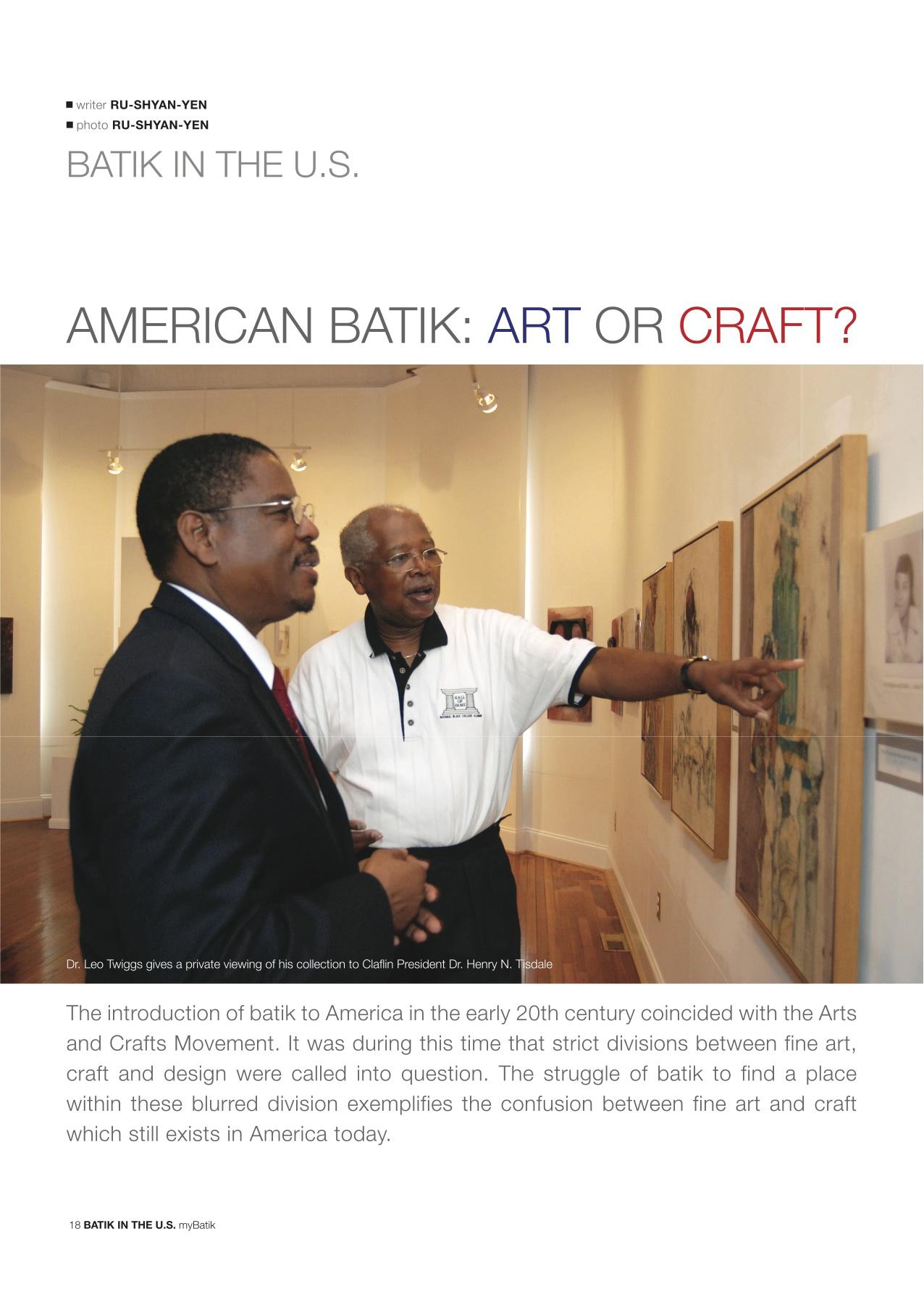 Batik in America