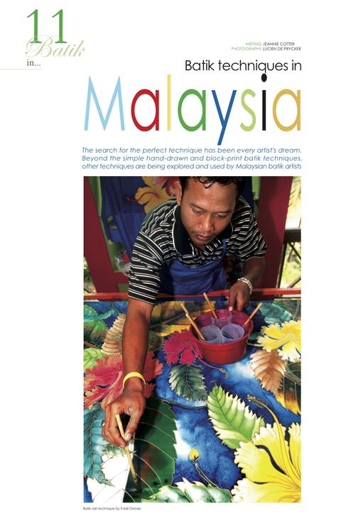 Batik in Malaysia