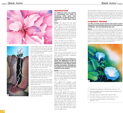 Batik Artist feature