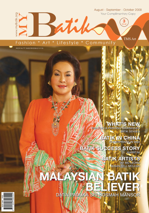 Cover Icon: Datin Paduka Seri Rosmah Mansor- Malaysian Batik Believer