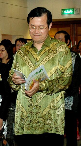myBatik fan, Datuk Seri Ong Tee Keat