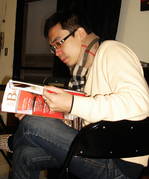 Taiwanese Modern Art Painter, Mr. Ryan Yu, Jan 2010
