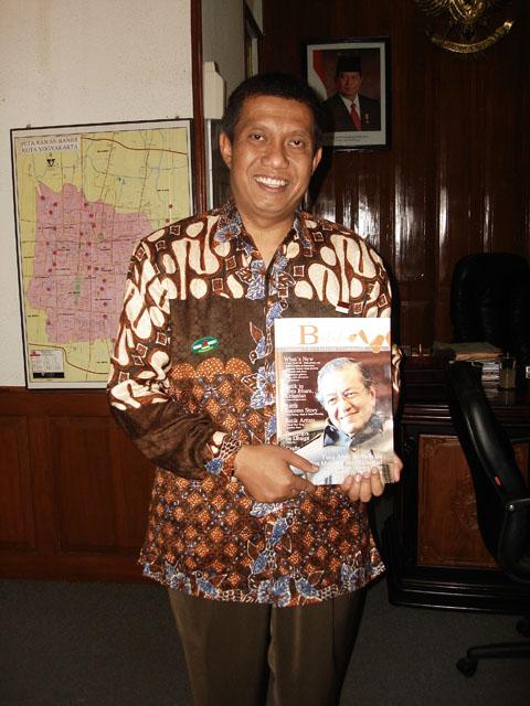 Wakil Walikota Jogjakarta, November 2009