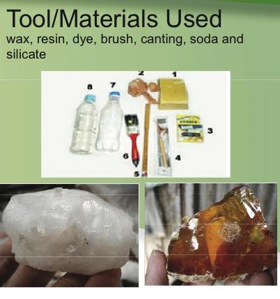 batik tools & materials