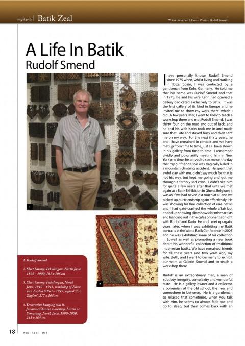 Batik Life by Rudolf Smend