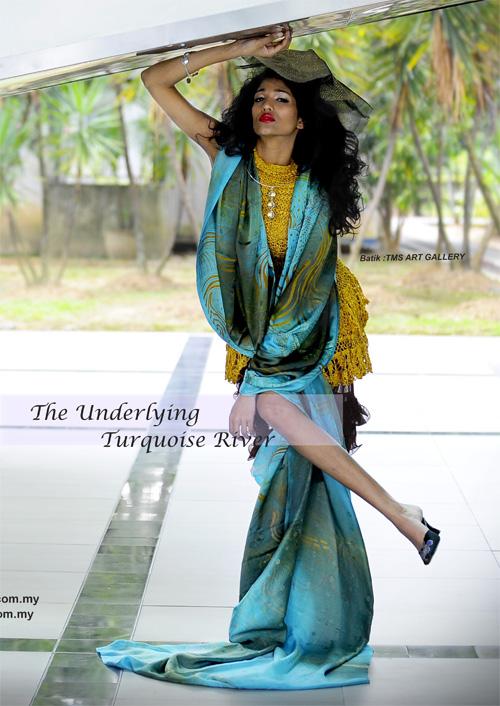 Fashion Spread feature Miss World Malaysia, Thanuja