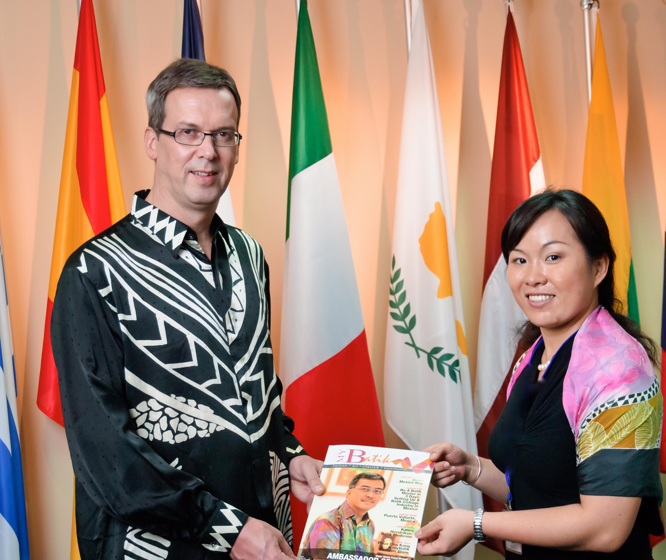 HE Vincent Piket, ambassador of European Union, Malaysia