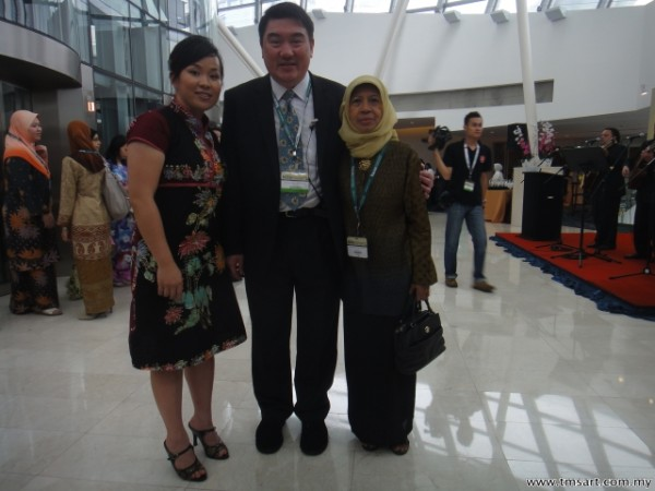 Emilia Tan, Jway Chan & Raja Fuziah