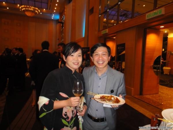 Emilia Tan & Wayne Lim, CEO of SME Malaysia