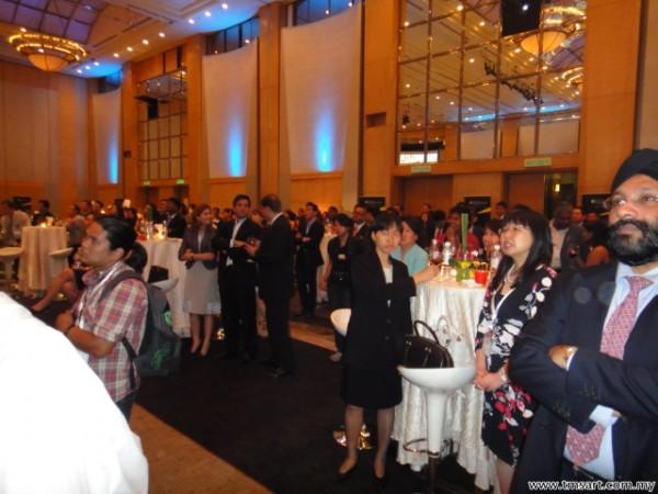 a cocktail event @ Kuala Lumpur Hilton Hotel Ballroom