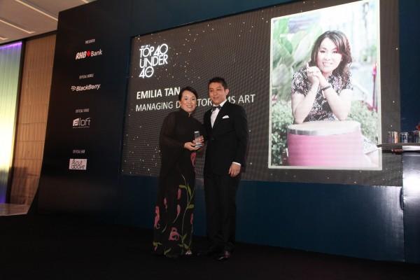 TOP 40 UNDER 40 Award by Prestige Magazine & RHB Bank