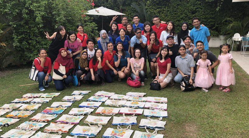 CARGILL oil   gas company team building ~ Batik Painting Workshop   Coffee  Latte Art Workshop 8baed9a373