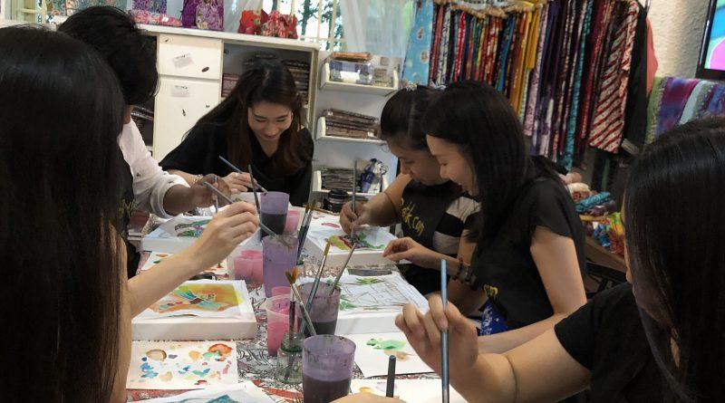 Batik Painting workshop for Hens Party Gathering – myBatik Kuala Lumpur 843d95bcc9
